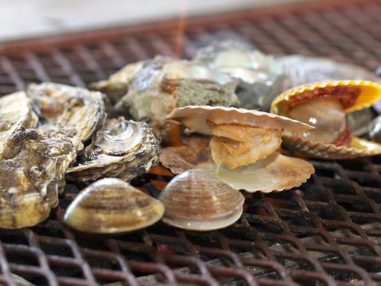 牡蠣焼き 塩見園