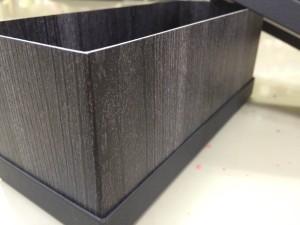 貼り箱 木目